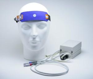 Figura 1: Modelo de equipamento para HEG neurofeedback NIR Fonte: Divulgação – Pocket Neurobics/Austrália. Retirado em 2013, de world wide web: http:// pocket-neurobics.com/. Imagem publicada com autorização prévia do fabricante.
